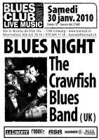 CBB flier for the blues club fribourg