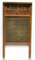 Old Columbus Brass Maid Rite Washboard
