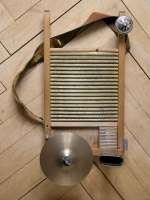 Old National Brass Washboard 801