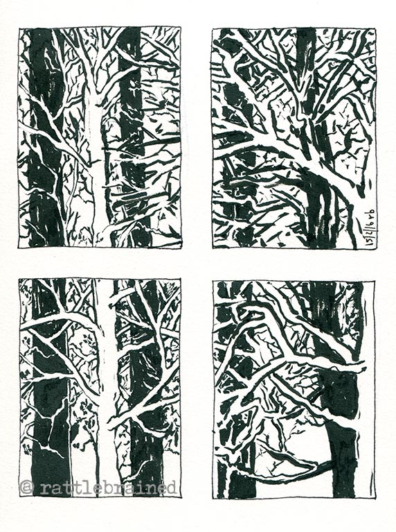 A comic about trees?